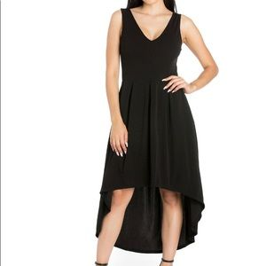 24/7 Apparel High-Low Fit & Flare Dress NWOT